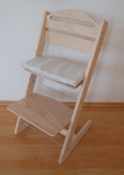 Dětská rostoucí židlička Jitro Baby bez laku
