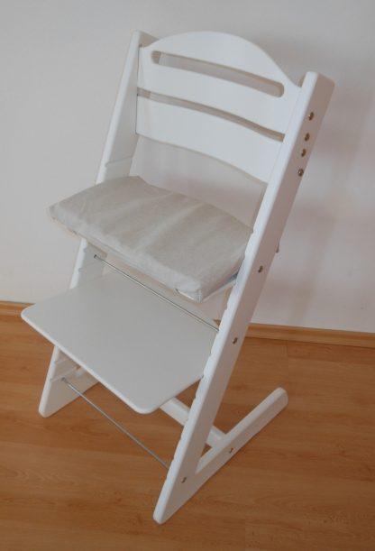 Rostoucí židle Jitro Baby bílá