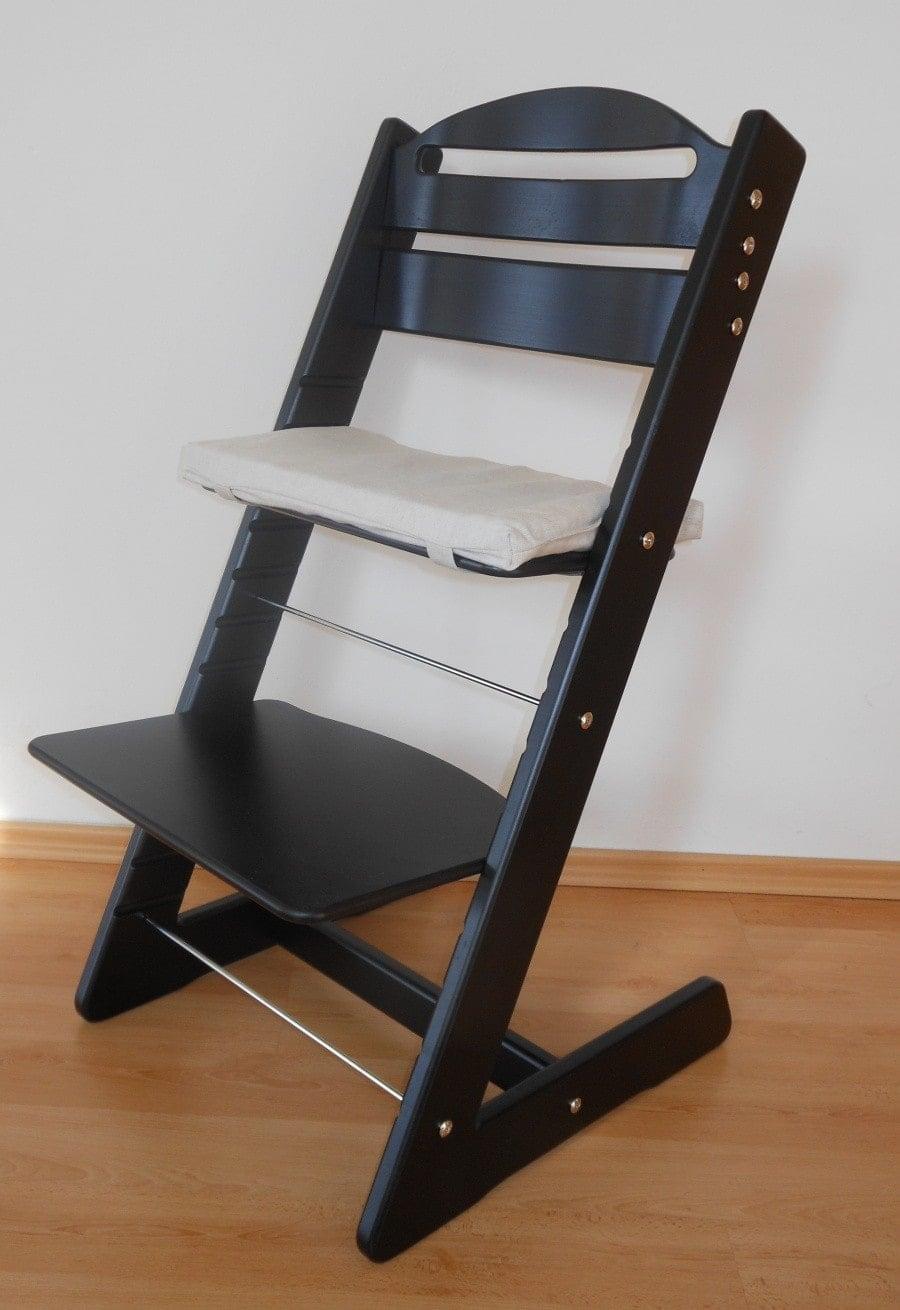 Dětská židle Jitro Baby černá