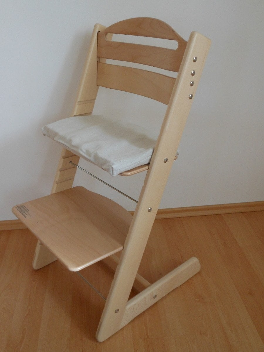 Dětská rostoucí židle Jitro Baby lak buk