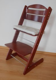 Jídelní rostoucí židle Jitro Baby Mahagon