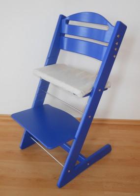 Rostoucí židle Jitro Baby modrá