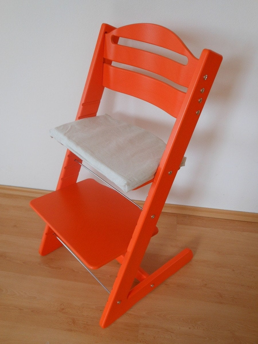 Rostoucí židle Jitro Baby oranžová