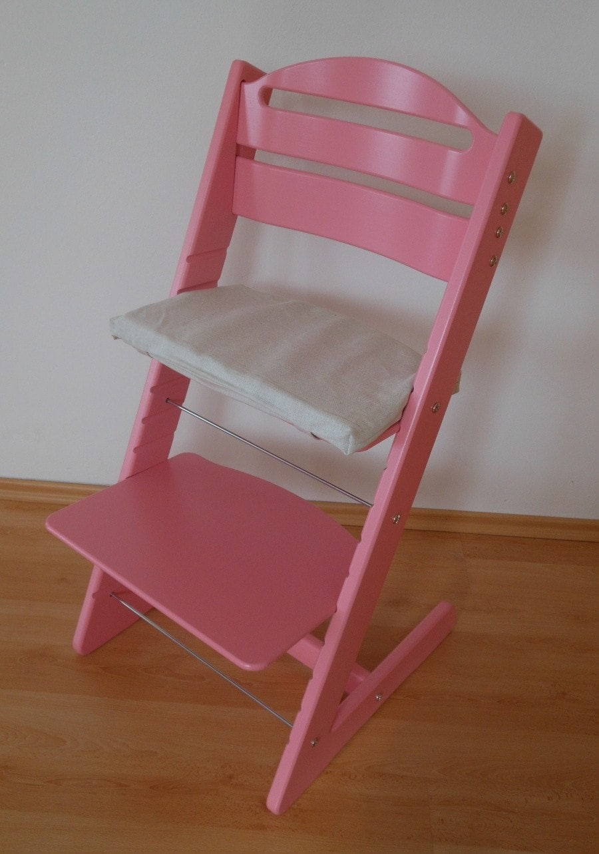 Rostoucí židle Jitro Baby růžová