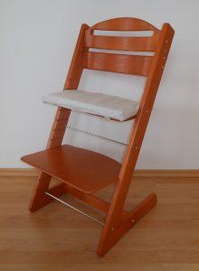 Rostoucí židlička Jitro Baby třešeň