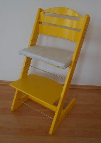 Židle Jitro Baby žlutá