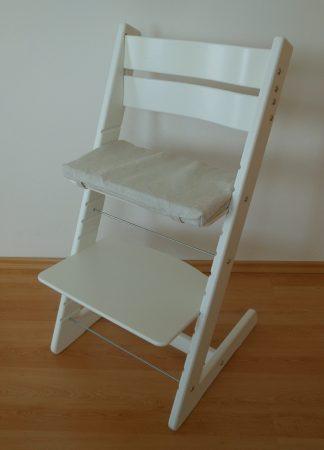 Rostoucí židle Jitro Klasik bílá