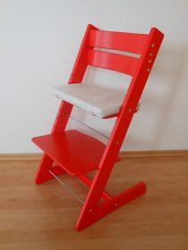 Židle Jitro Klasik červená