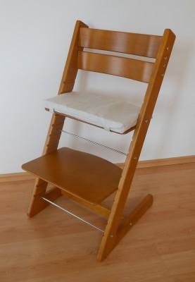 Dětská židle Jitro Klasik dub
