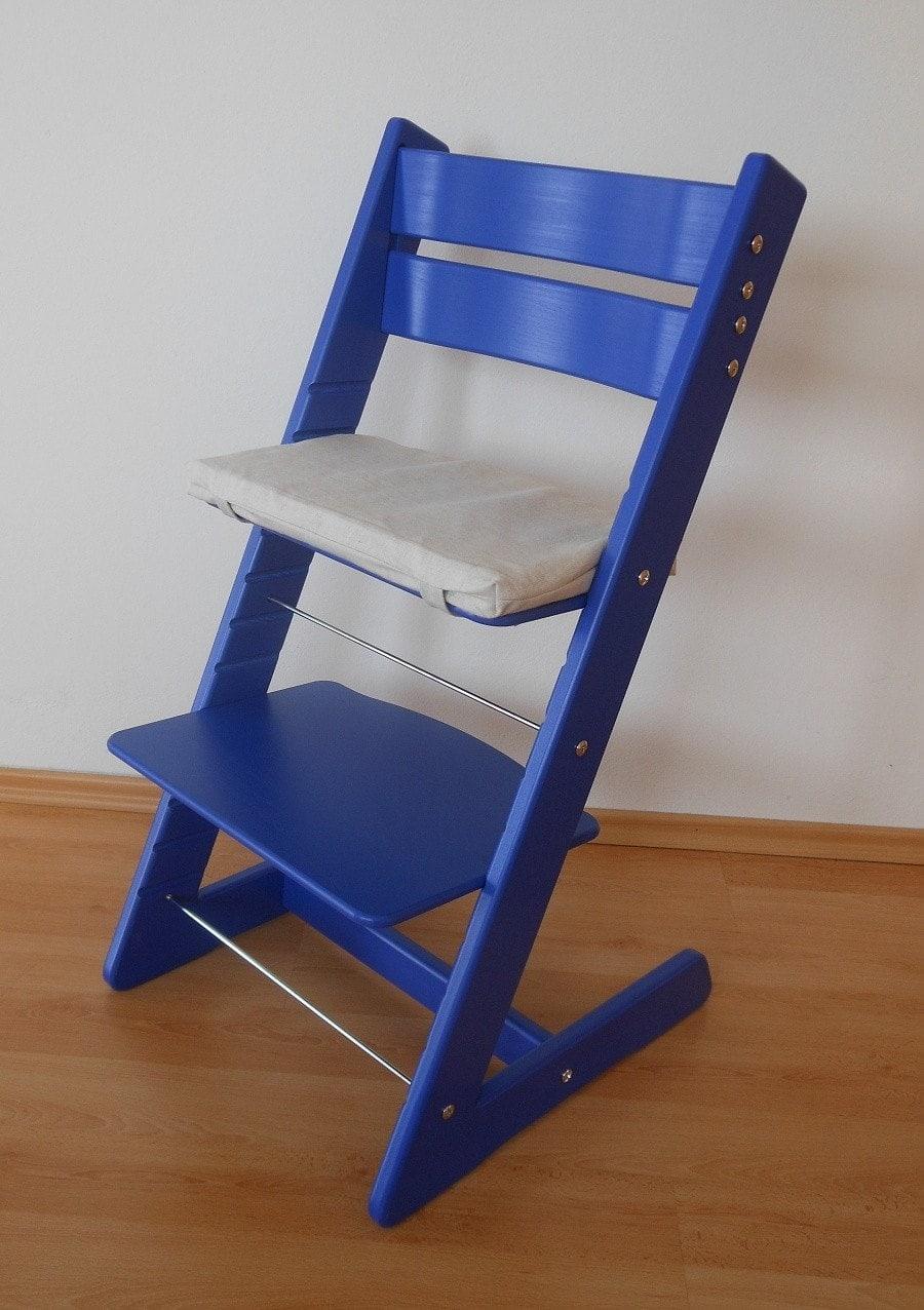 Rostoucí židle Jitro Klasik modrá