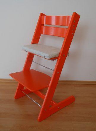 Židlička Jitro Klasik oranžová