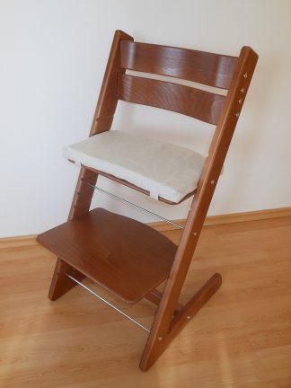 Dětská židle Jitro Klasik ořech