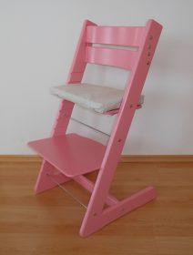 Rostoucí židle Jitro Klasik růžová