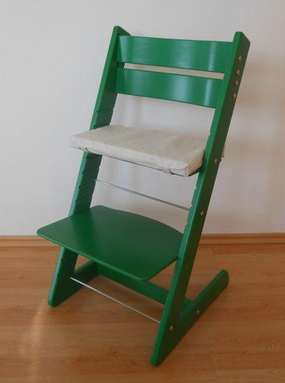 Dětská rostoucí židlička Jitro Klasik zelená