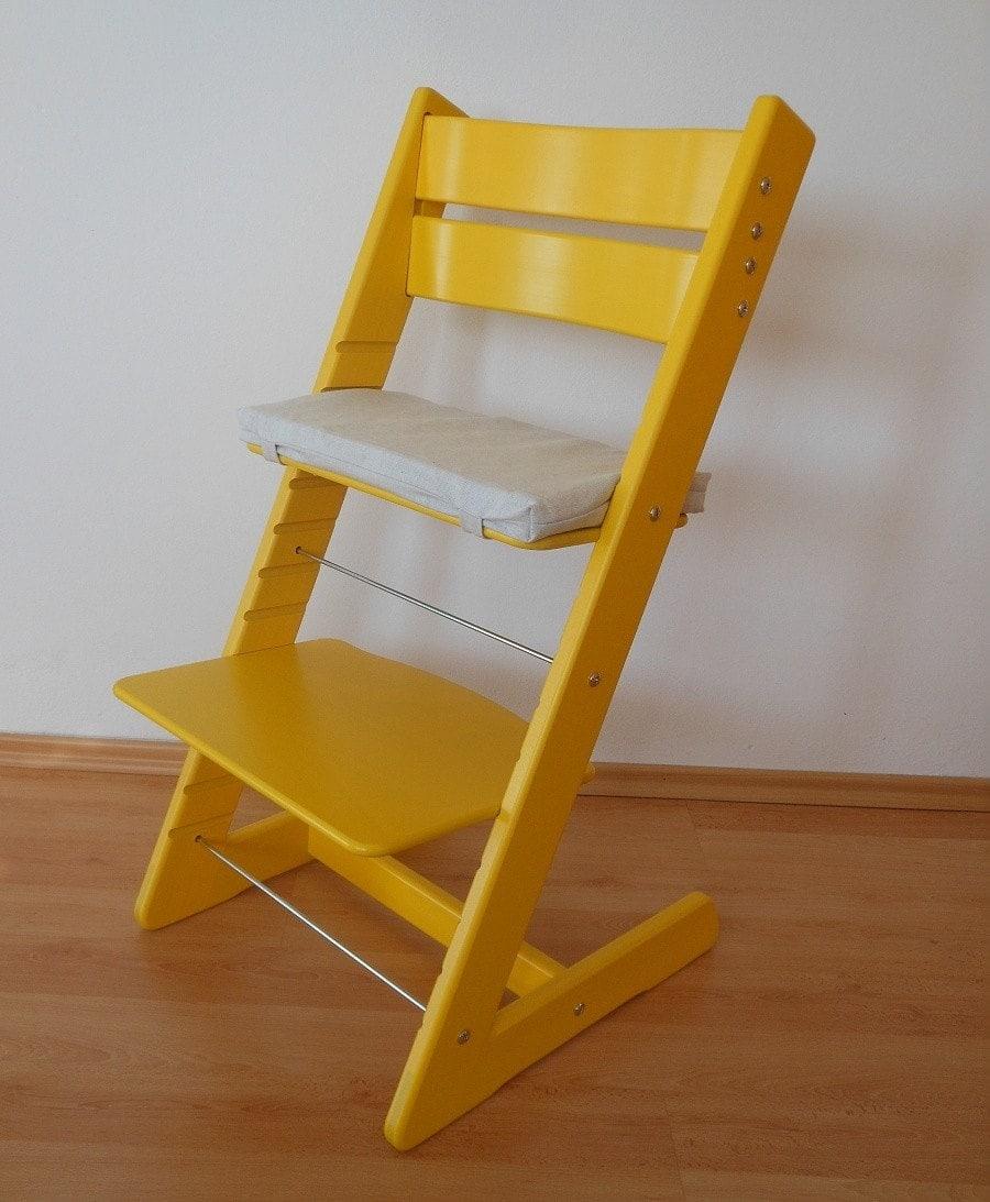 Rostoucí židle Jitro Klasik žlutá