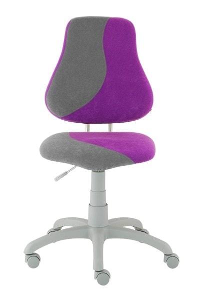 Dětská židle Fuxo S-Line fialová / šedá