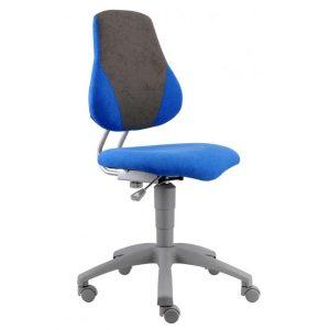 Rostoucí židle Fuxo V-Line modrá / šedá