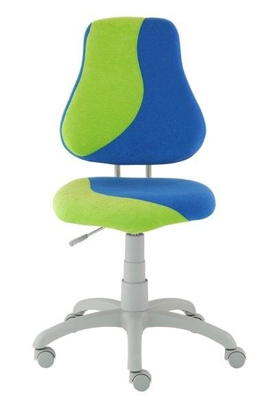 Alba Rostoucí židle Fuxo S-Line modrá / jasně zelená