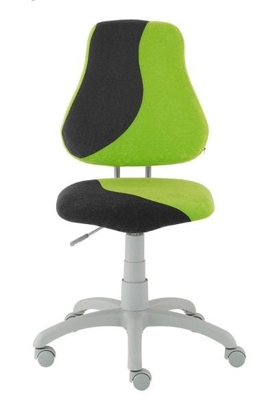 Alba Rostoucí židle Fuxo S-Line jasně zelená / černá