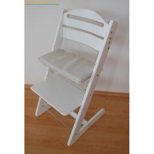 Jitro Rostoucí židle Jitro Baby bílá