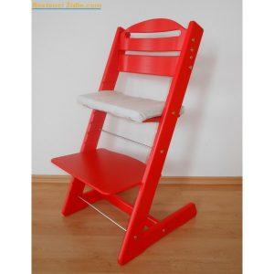 Jitro Rostoucí židle Jitro Baby červená