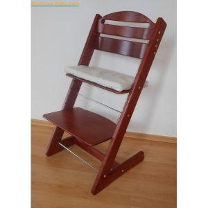 Jitro Rostoucí židle Jitro Baby Mahagon