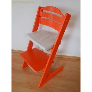 Jitro Rostoucí židle Jitro Baby oranžová