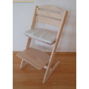 Jitro Rostoucí židle Jitro Baby přírodní bez laku