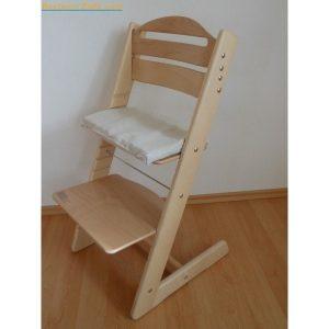 Jitro Rostoucí židle Jitro Baby přírodní lakovaná
