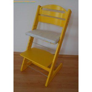 Jitro Rostoucí židle Jitro Baby žlutá