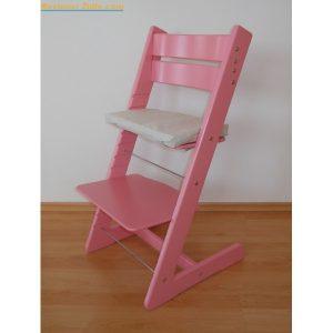 Jitro Rostoucí židle Jitro Klasik růžová