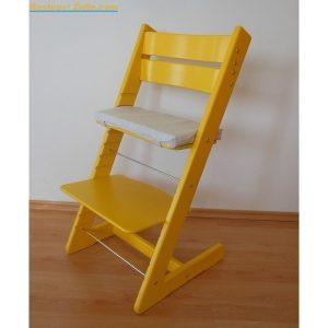 Jitro Rostoucí židle Jitro Klasik žlutá