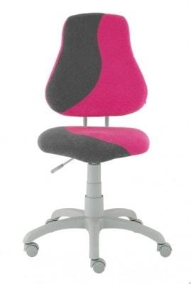 Židlička Fuxo S-Line růžová / šedá