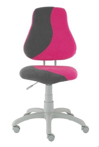 Alba Rostoucí židle Fuxo S-Line růžová / šedá