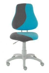 Židle Fuxo S-Line světle modrá / šedá