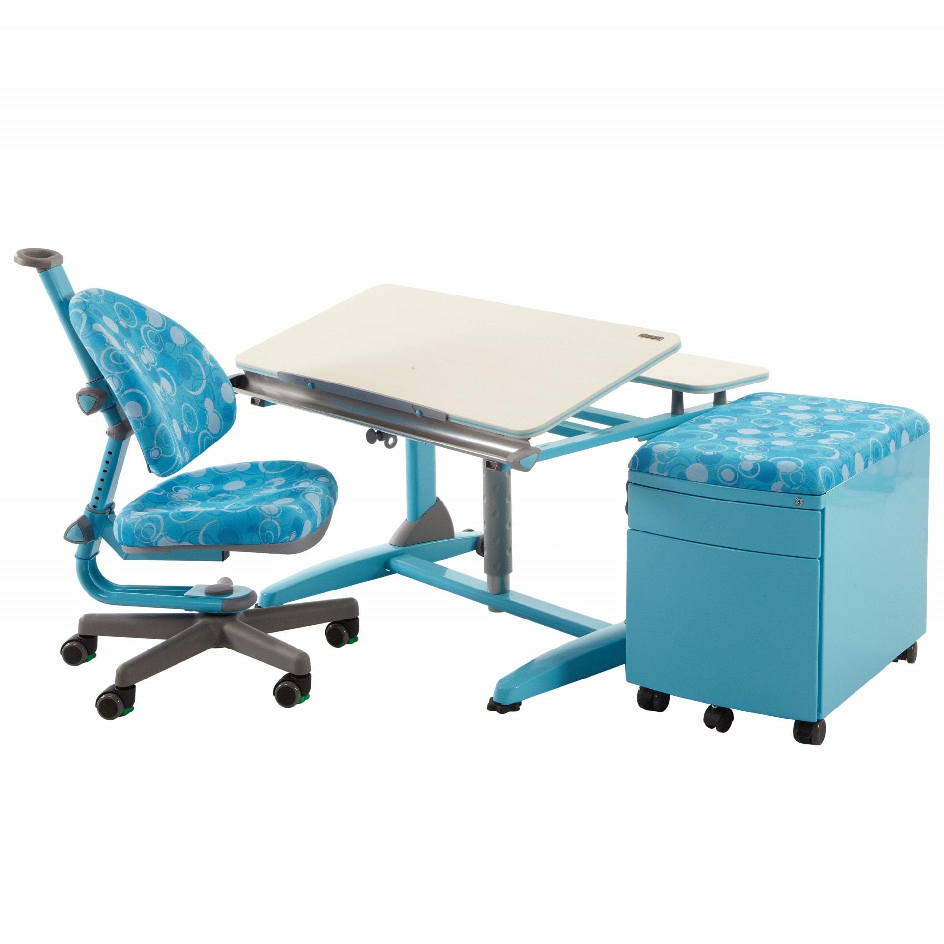 Rostoucí stůl Junior s židlí Klára a kontejnerem