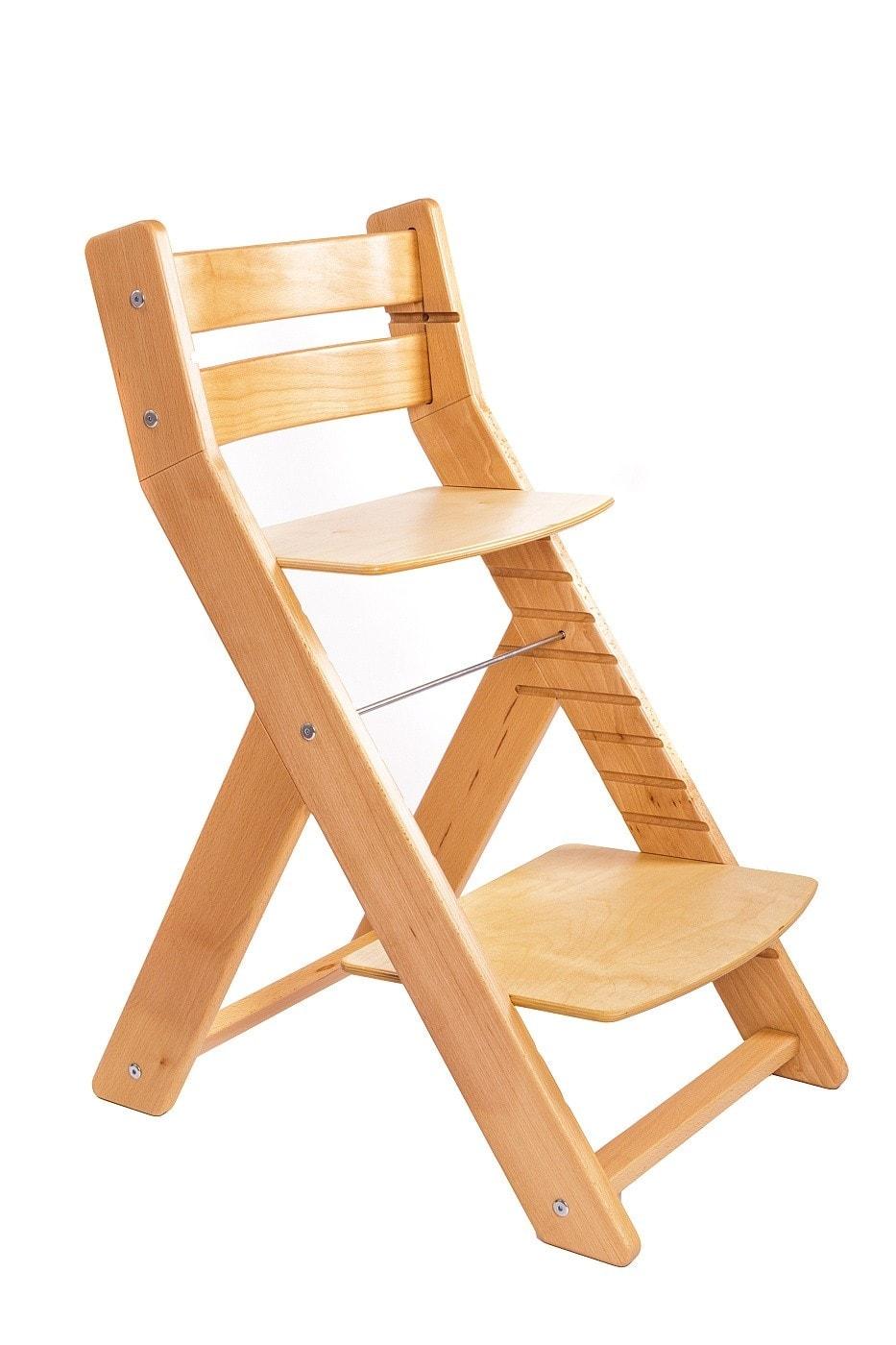 Wood Partner Rostoucí židle Mony - natur lak