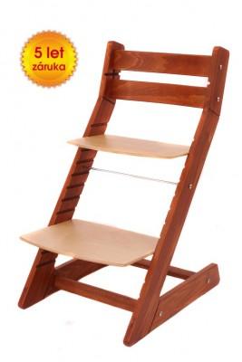 Rostoucí židle Mony - třešeň / buk