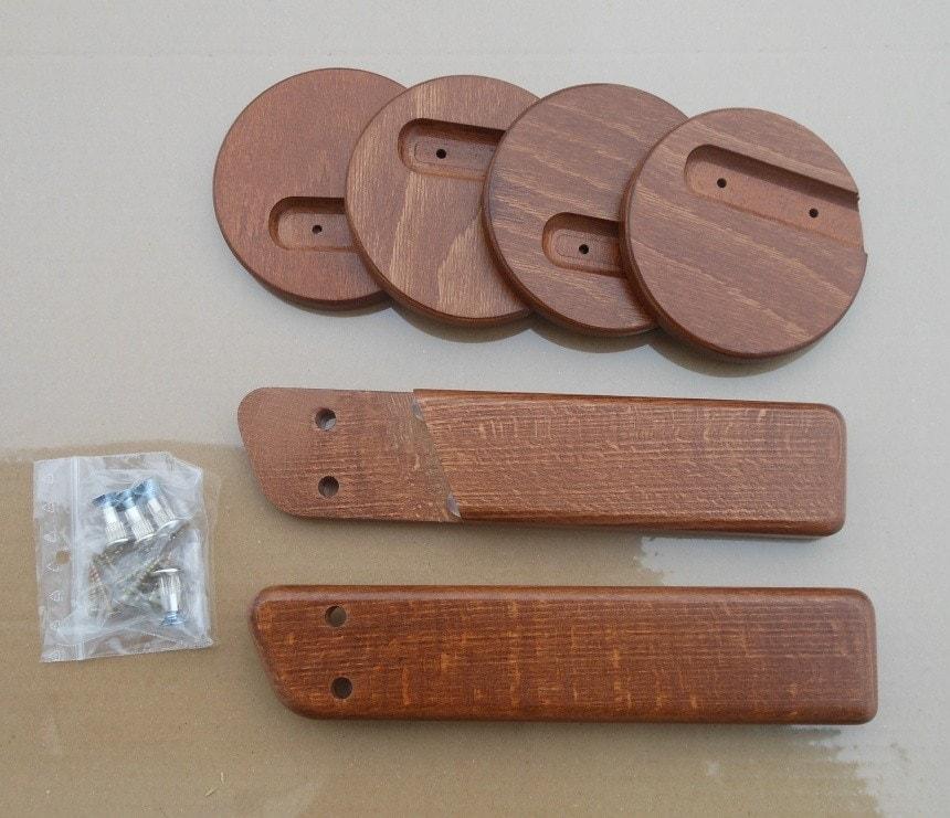 Područky + stabilizační botky - Ořech