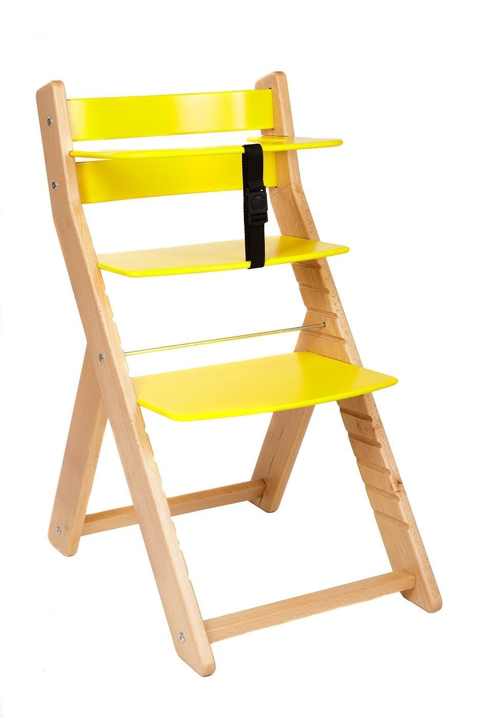 Wood Partner Rostoucí židle Unize bílá / žlutá