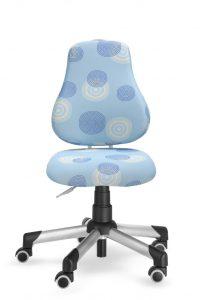 Rostoucí židle Actikid A2 modrá polyester