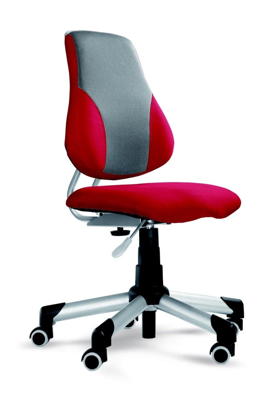 Rostoucí židle Actikid s potahem Aquaclean červená