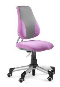 Rostoucí židle Actikid A2 Aquaclean růžová