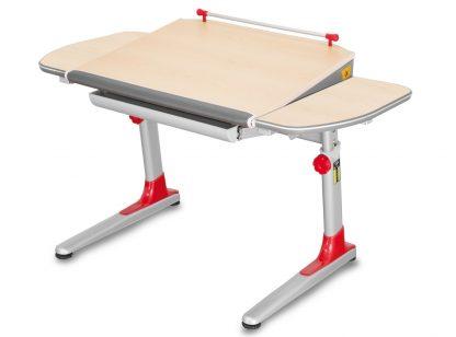 Stůl Profi 3 červený/javor