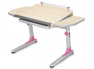 Rostoucí stůl Profi 3 růžový/javor