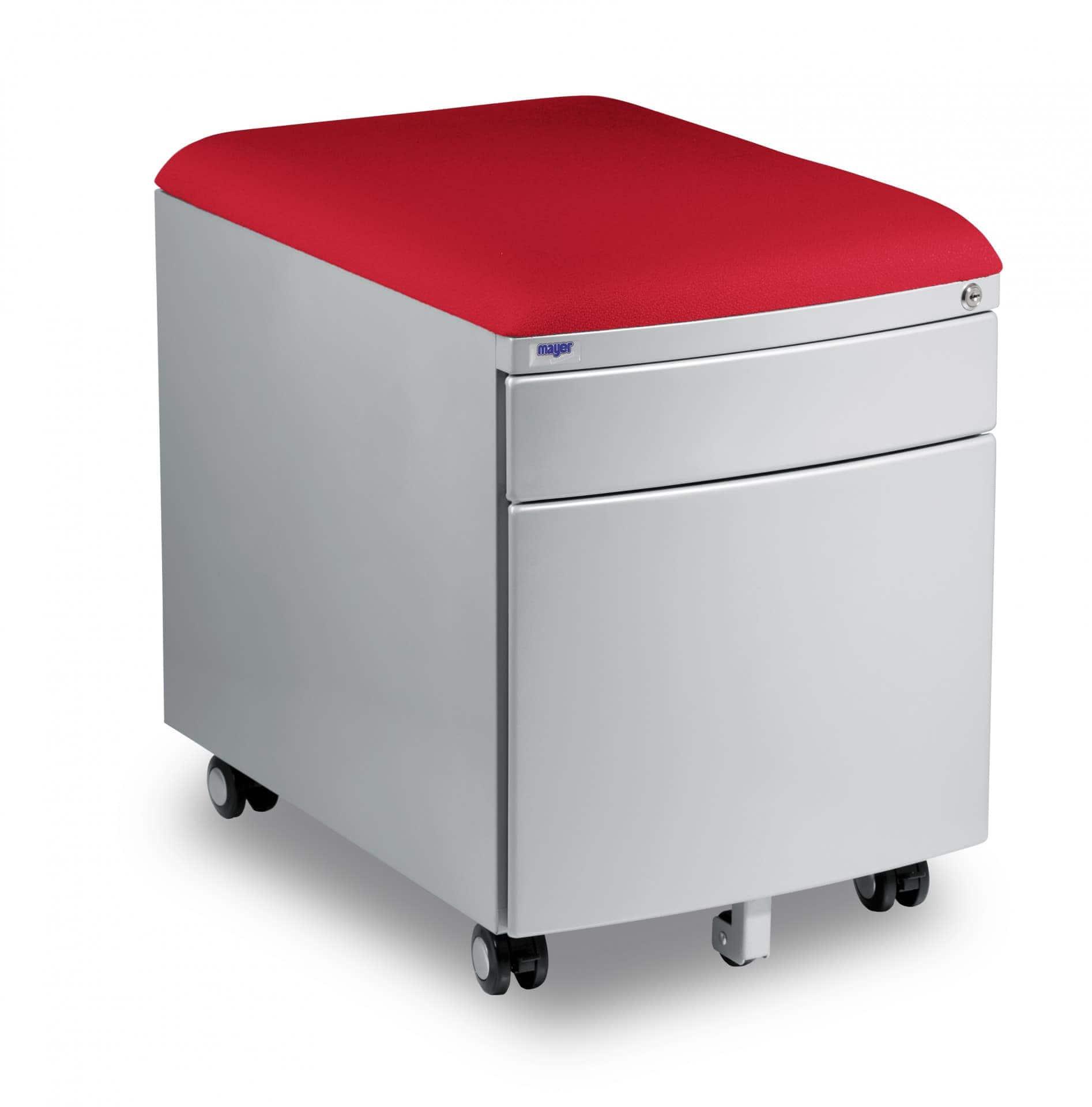 Kontejner Mayer - potah aquaclean červená