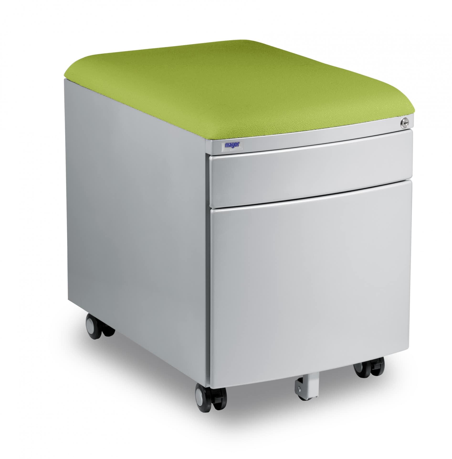 Kontejner Mayer - potah aquaclean zelený