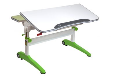 Stůl Mayer Racing se zvednutou deskou