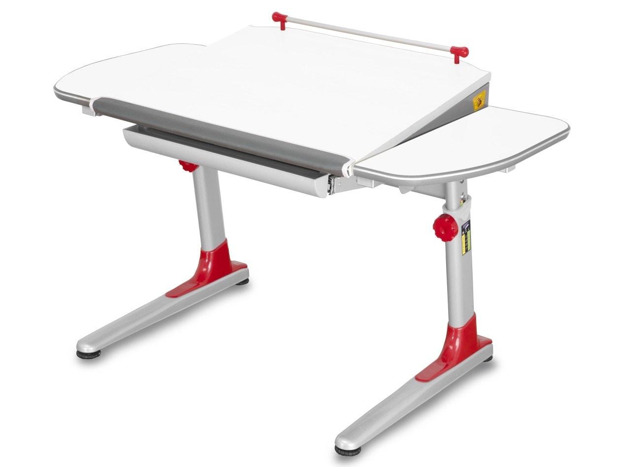 Mayer Rostoucí stůl Profi 3 - bílý + červené plasty