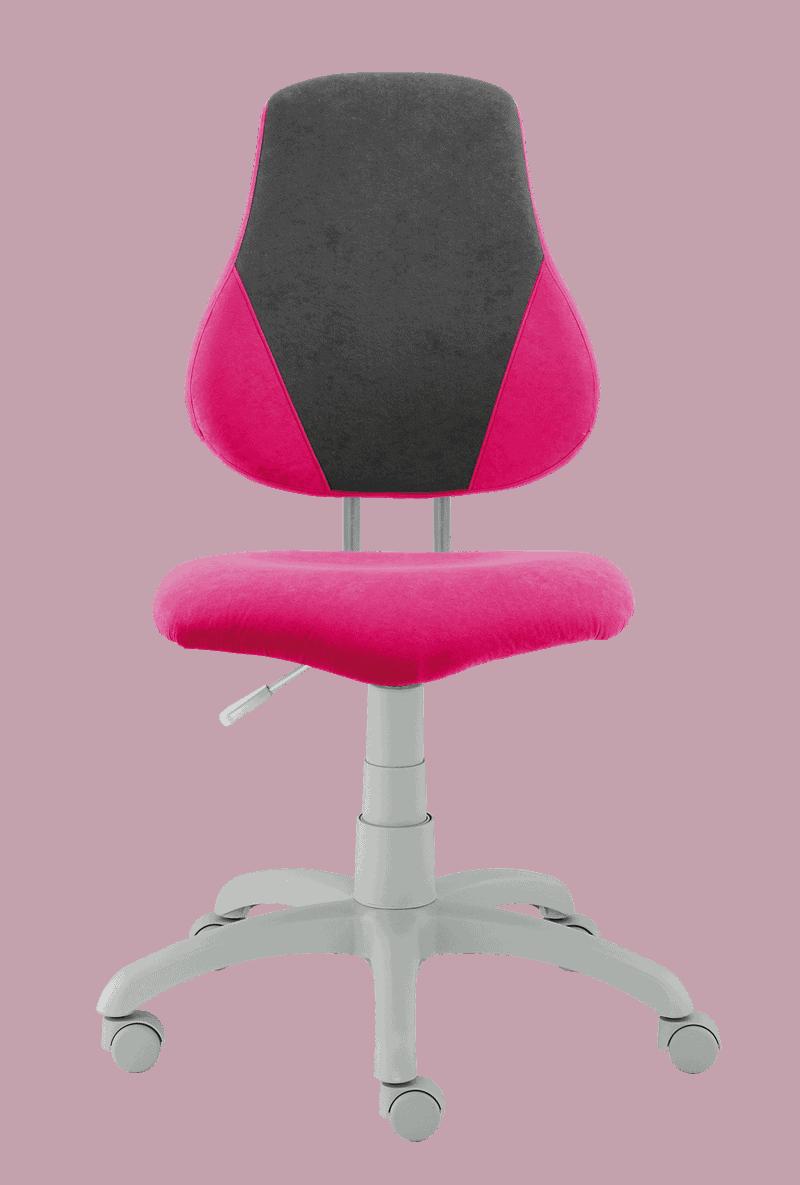 Alba Rostoucí židle Fuxo V-Line - šedá / růžová